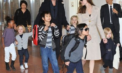 Angelina Jolie`s family: husband, children