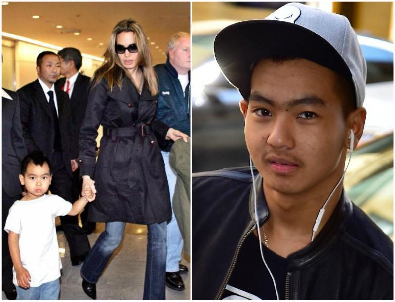 Angelina Jolie`s children - son Maddox Chivan Jolie-Pitt
