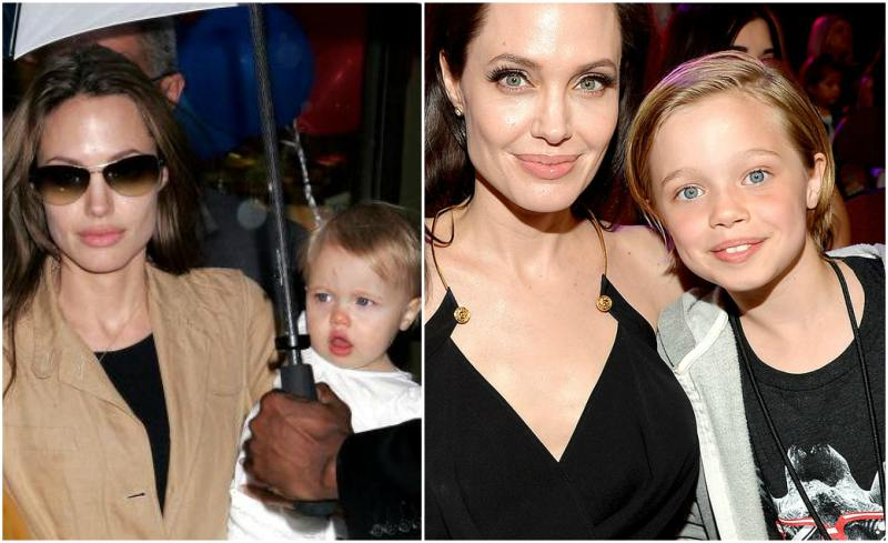 Angelina Jolie`s children - daughter Shiloh Nouvel Jolie-Pitt