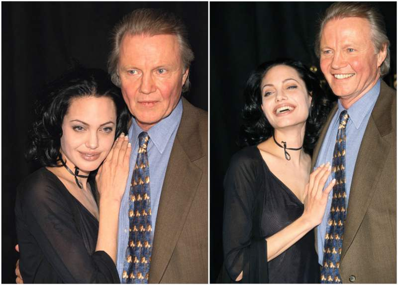 Angelina Jolie`s family - father Jon Voight