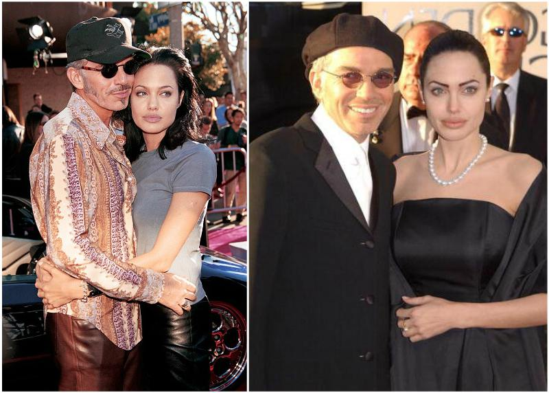 Angelina Jolie`s family - ex-husband Billy Bob Thornton