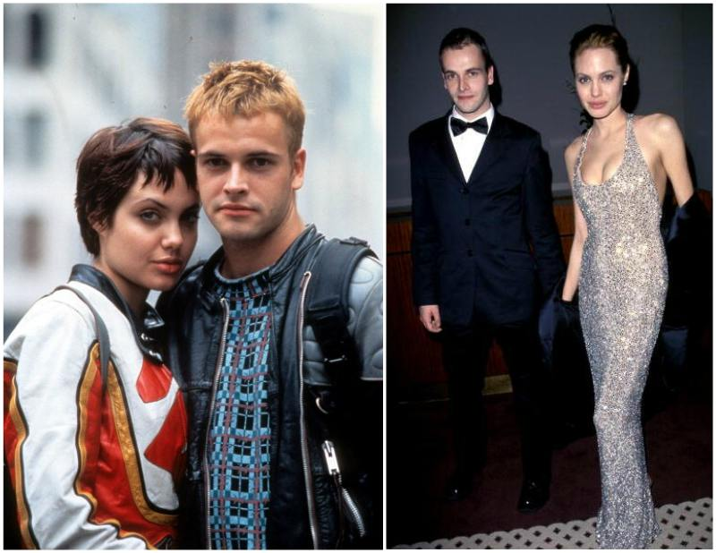 Angelina Jolie`s family - ex-husband Jonny Lee Miller