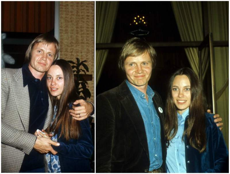 Angelina Jolie`s family - parents