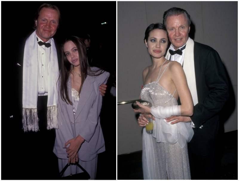 Angelina Jolie`s family - father Jon Voight