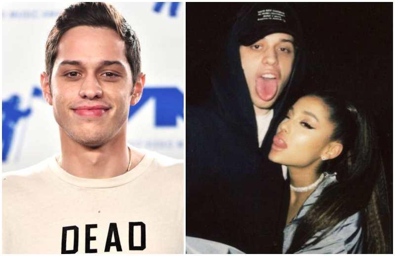 Ariana Grande's family - ex-fiance Pete Davidson