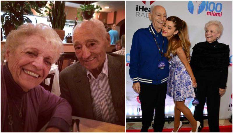 Ariana Grande`s family - grandparents