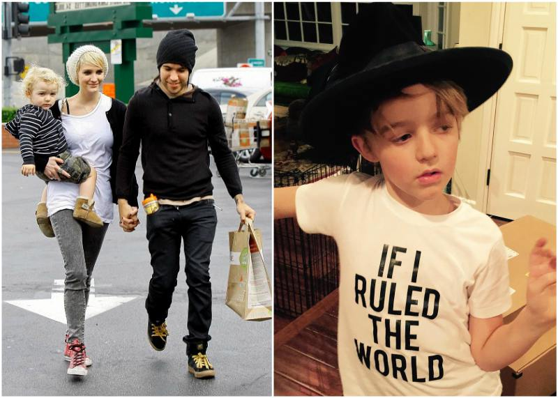 Ashlee Simpson`s children - son Bronx Mowgli Wentz
