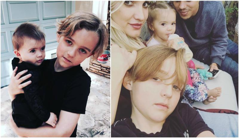 Ashlee Simpson`s children