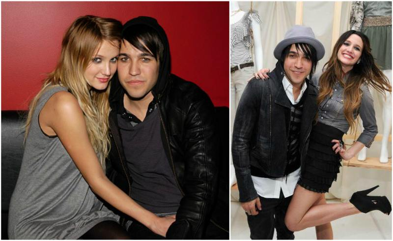 Ashlee Simpson`s family - ex-husband Pete Wentz