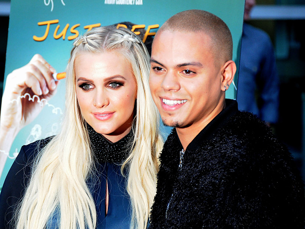 Ashlee Simpson`s family - husband Evan Ross