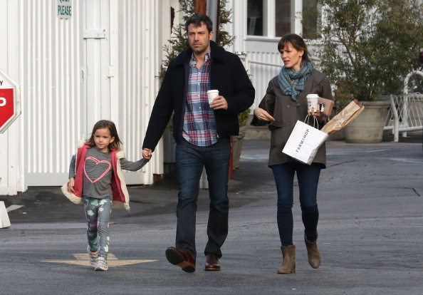 Ben Affleck`s children - daughter Seraphina Affleck