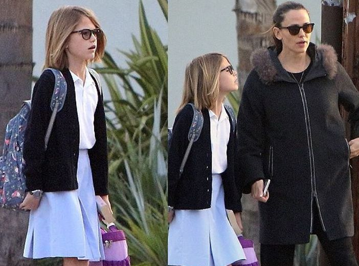 Ben Affleck`s children - daughter Violet Affleck