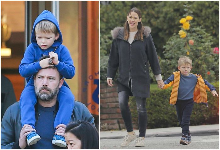 Ben Affleck`s children - son Samuel Affleck