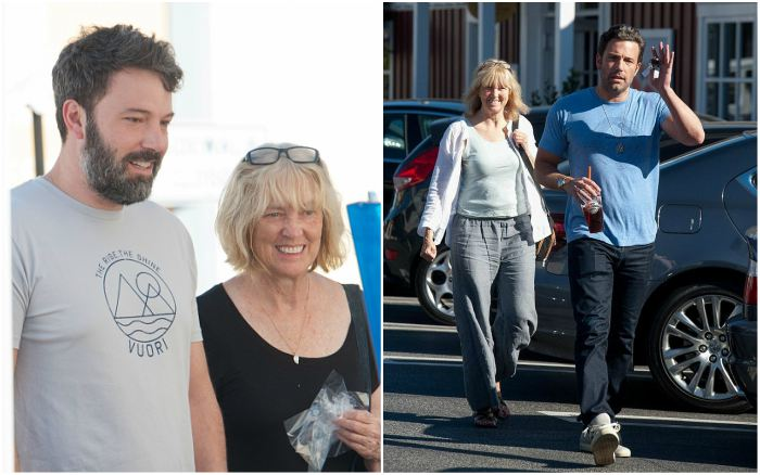 Ben Affleck`s family - mother Christine Anne Boldt