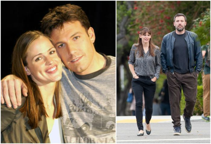 Ben Affleck`s family - ex-wife Jennifer Garner