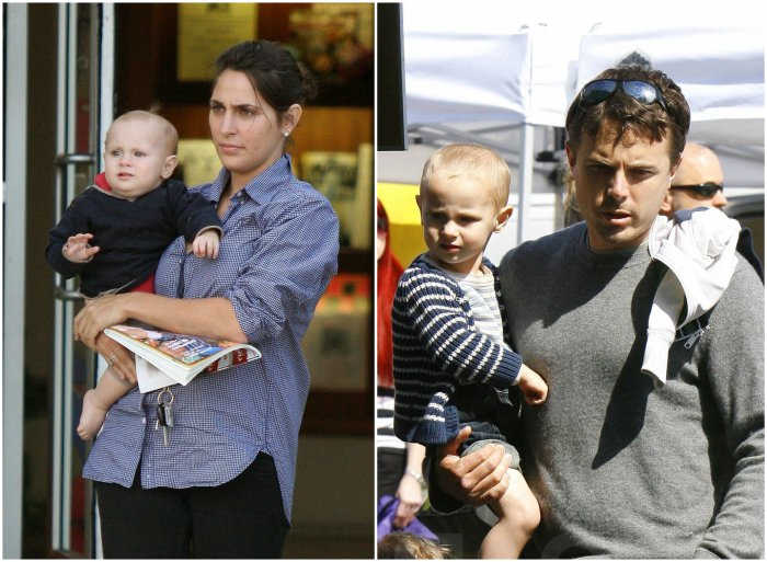 Casey Affleck`s children - son Atticus Affleck