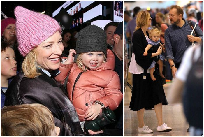 Cate Blanchett`s children - adopted daughter Edith Vivian Patricia Upton