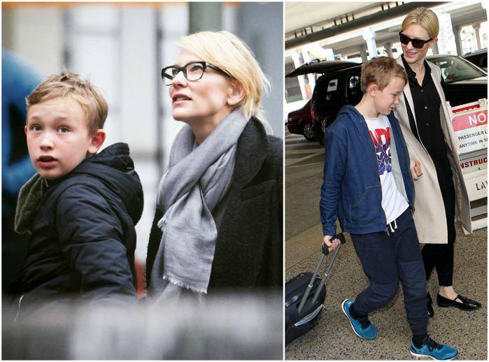Cate Blanchett`s children - son Dashiell John Upton