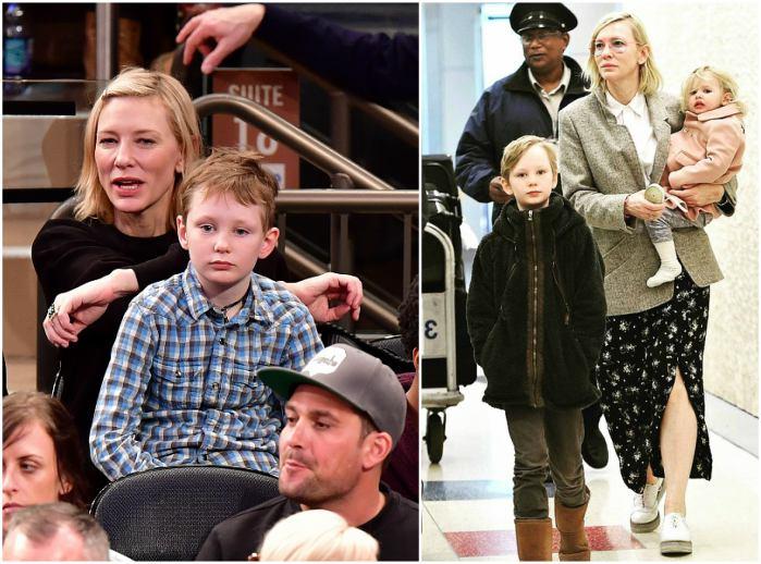 Cate Blanchett`s children - son Ignatius Martin Upton