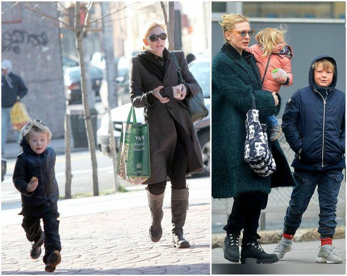 Cate Blanchett`s children - son Roman Robert Upton
