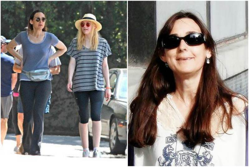 the famous dakota fanning and her cute family parents