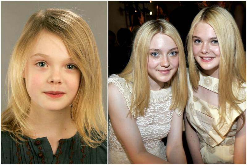 Dakota Fanning With Her Parents