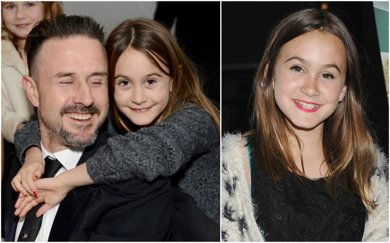 David Arquette`s children - daughter Coco Arquette