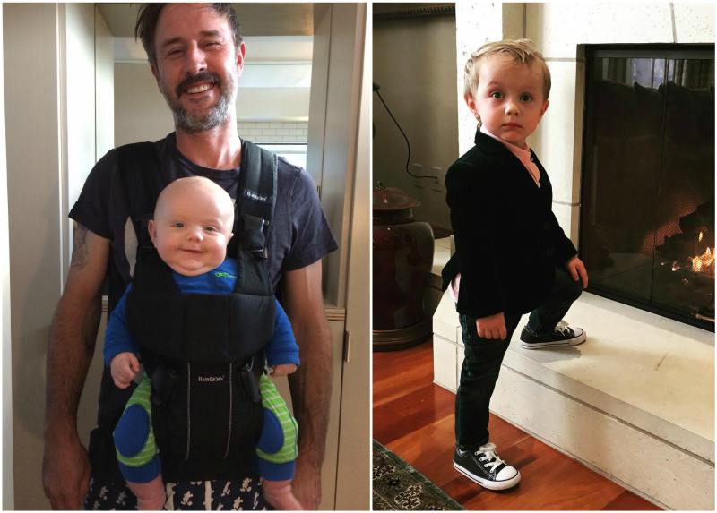 David Arquette`s children - son Charlie West Arquette