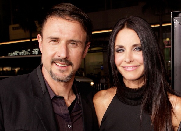 David Arquette`s family - former spouse Courteney Cox