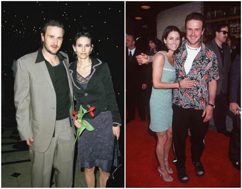 David Arquette`s family - ex-wife Courteney Bass Cox