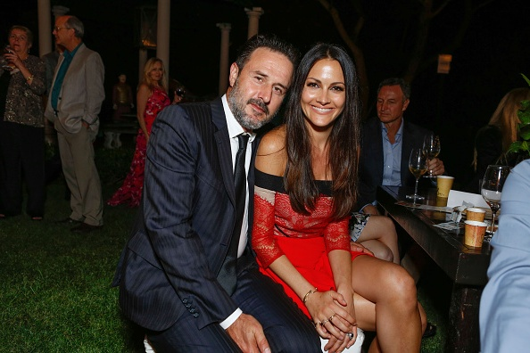 David Arquette`s family - wife Christina McLarty