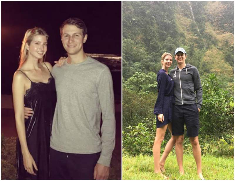 Ivanka Trump`s family - husband Jared Kushner