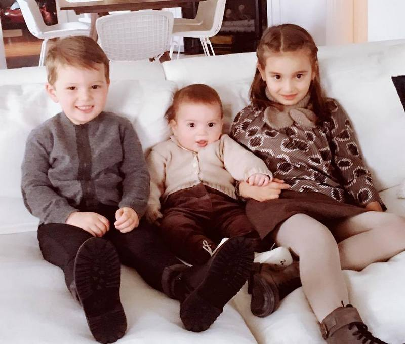 Ivanka Trump`s kids