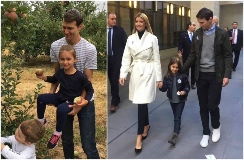Ivanka Trump`s kids - daughter Arabella Rose Kushner
