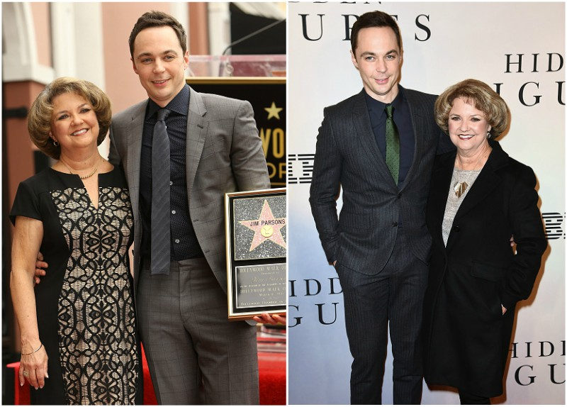 Jim Parsons` family - mother Judy Parsons