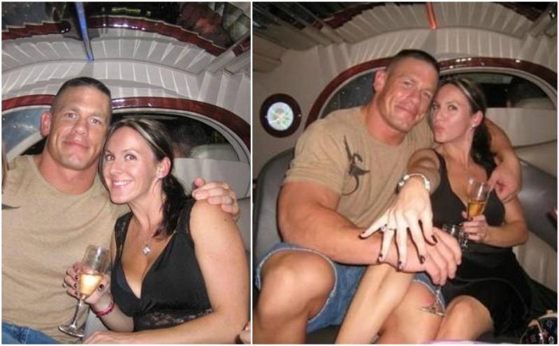John Cena`s family - ex-wife Elizabeth Huberdeau