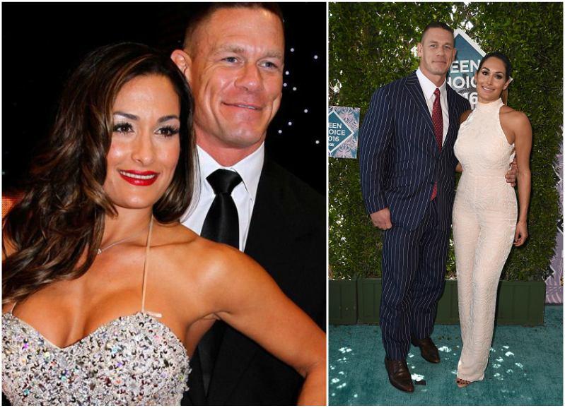 John Cena`s family - partner Nikki Bella