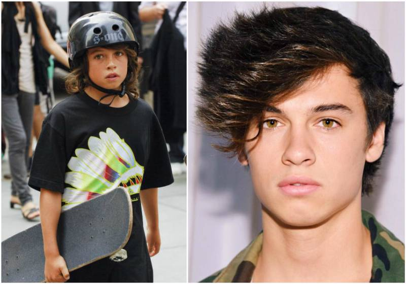 Pamela Anderson`s children - son Dylan Jagger Lee