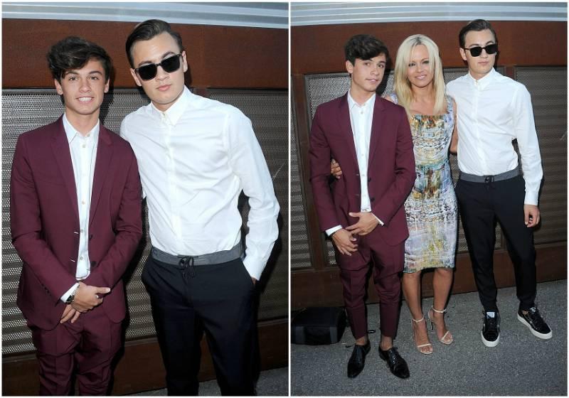 Pamela Anderson`s children