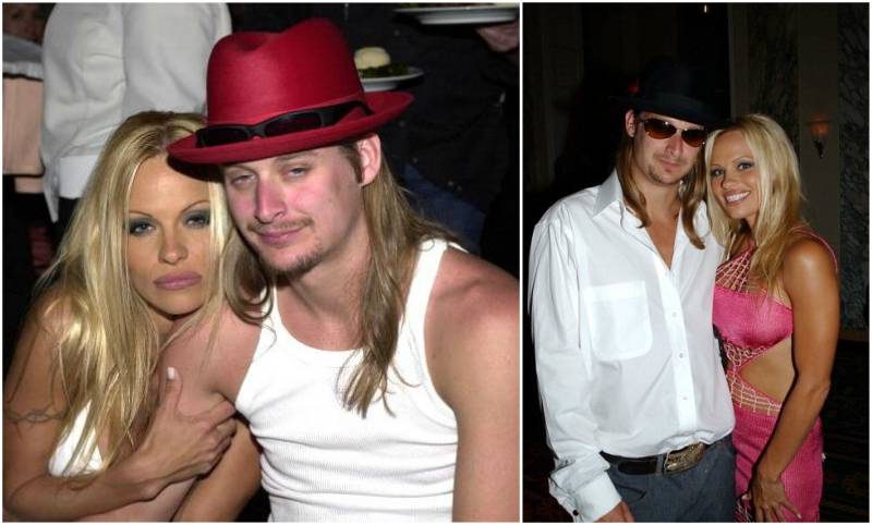 Pamela Anderson`s family - ex-husband Kid Rock