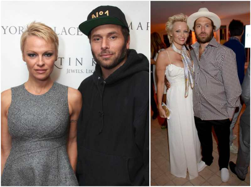 Pamela Anderson`s family - ex-husband Rick Salomon