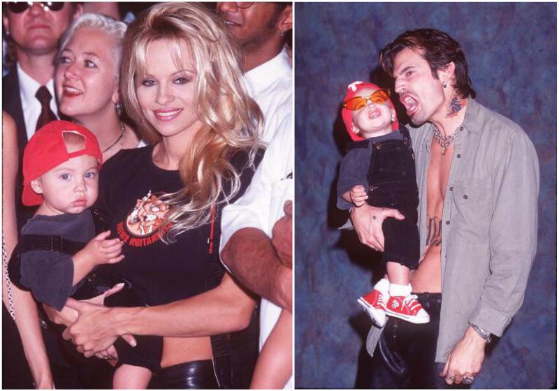 Pamela Anderson`s children - son Brandon Thomas Lee