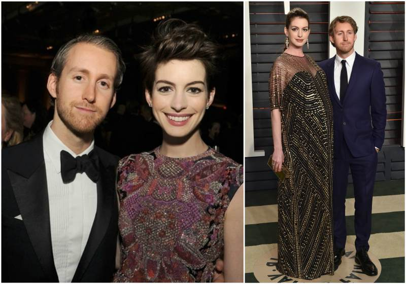 Anne Hathaway`s family - husband Adam Banks Shulman