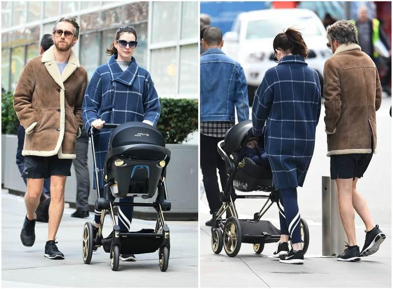 Anne Hathaway`s children - son Jonathan Rosebanks Shulman