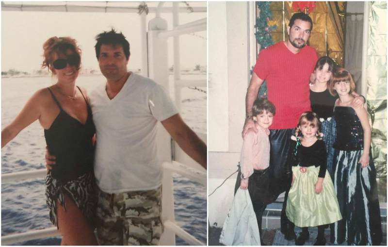 Bella Thorne`s family - father Delancey Reinaldo Thorne