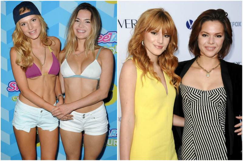 Bella Thorne`s siblings - step-sister Kaili Thorne