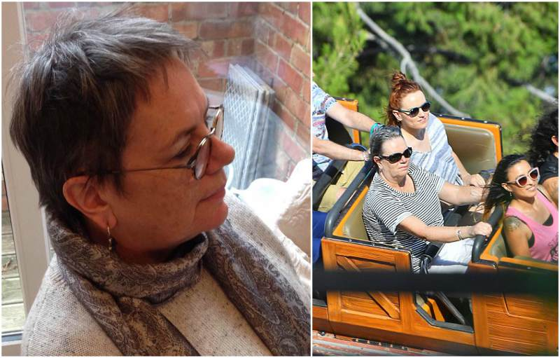Daisy Ridley`s family - mother Louise Fawkner-Corbett