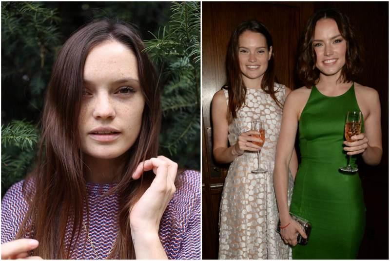 Daisy Ridley`s siblings - sister Kika-Rose Ridley