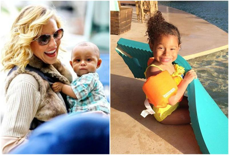 Katherine Heigl's children - daughter Adalaide Marie Hope Kelley