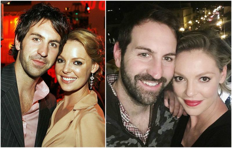 Katherine Heigl's family - husband Josh Bishop Kelley